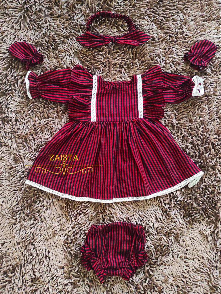 Cotton Frock Set