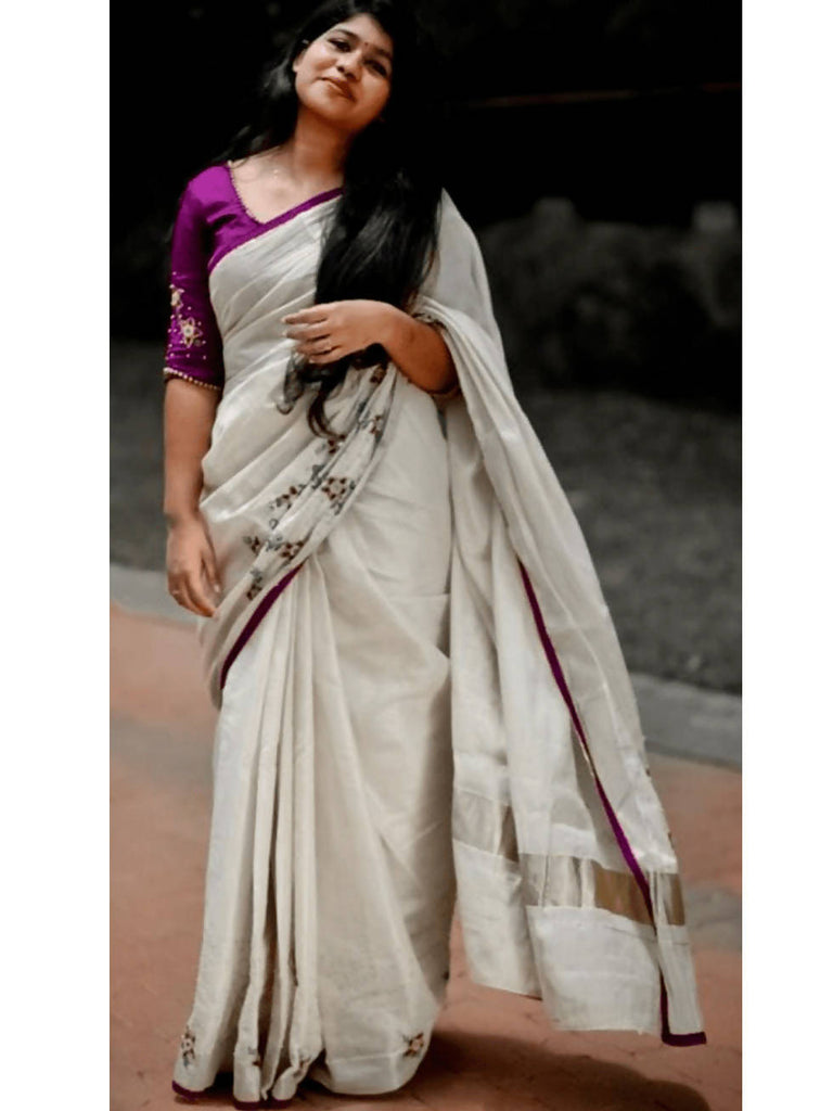 Designer Traditional Neriyath Saree