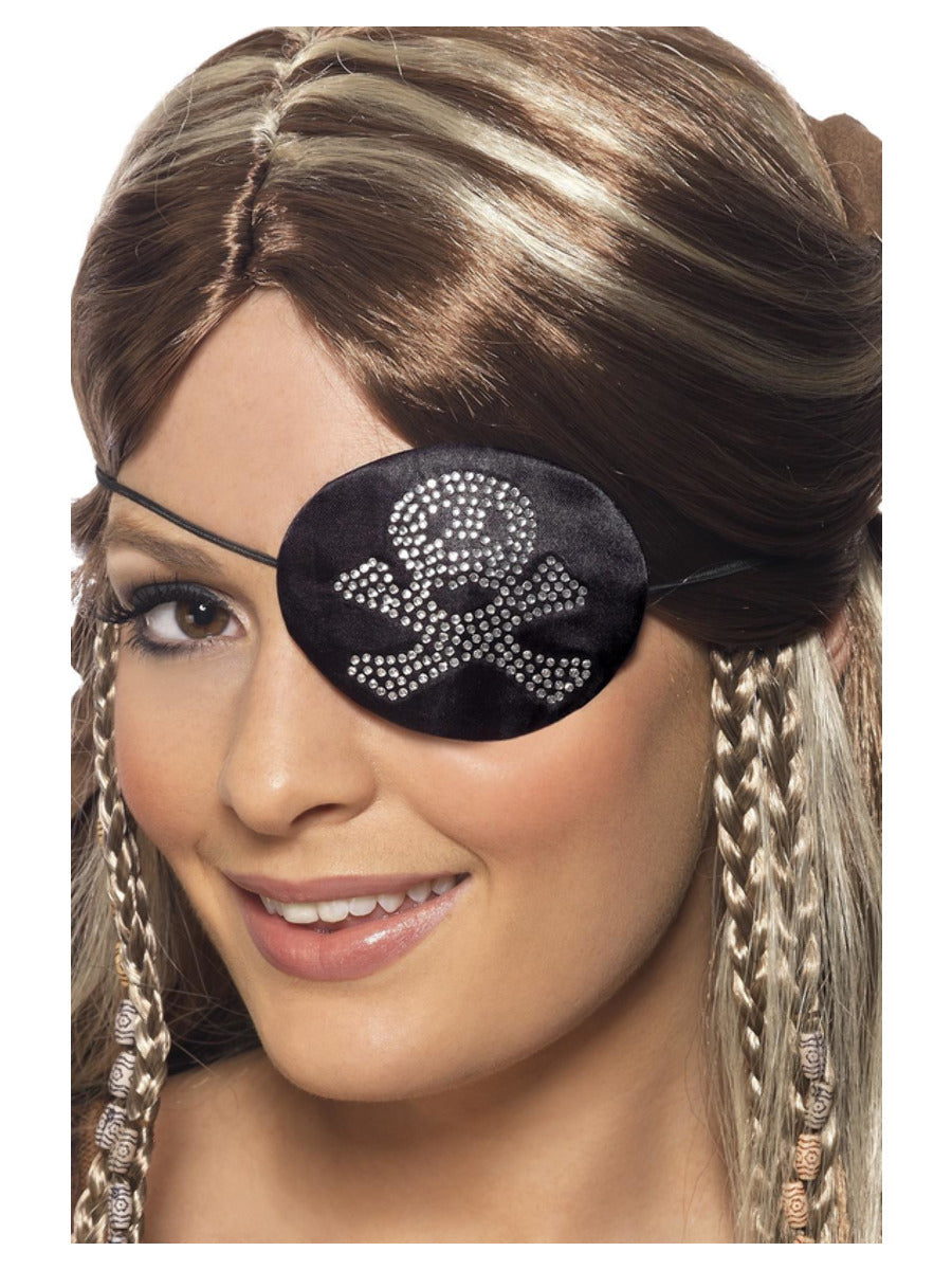 Pirates Eyepatch with Diamante Motif.