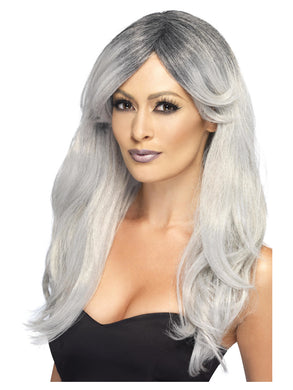 Ghostly Glamour Wig   Long Glamourous Ghostly Wig to add that sophisticated look to your Halloween this year.