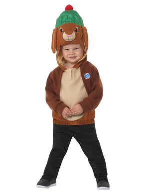 Peter Rabbit, Benjamin Bunny Deluxe Costume, Brown, with Tabard & Character Hood.