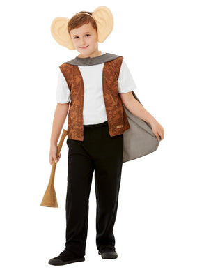 Roald Dahl The BFG Kit, Brown with Waistcoat, Cape, Trumpet and Ears on Headband.