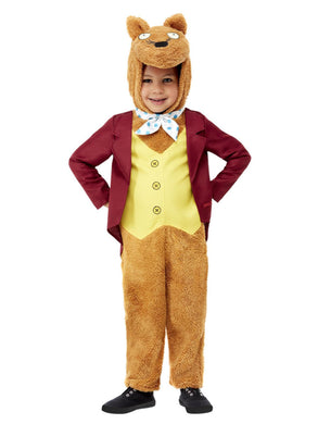 Roald Dahl Toddler Fantastic Mr Fox Costume, All In One.