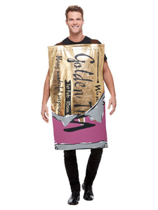 Adults Roald Dahl Winning Wonka Bar Costume, Purple, with Tabard