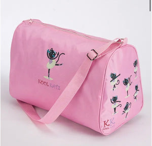 Pink dance shoulder ballet bag