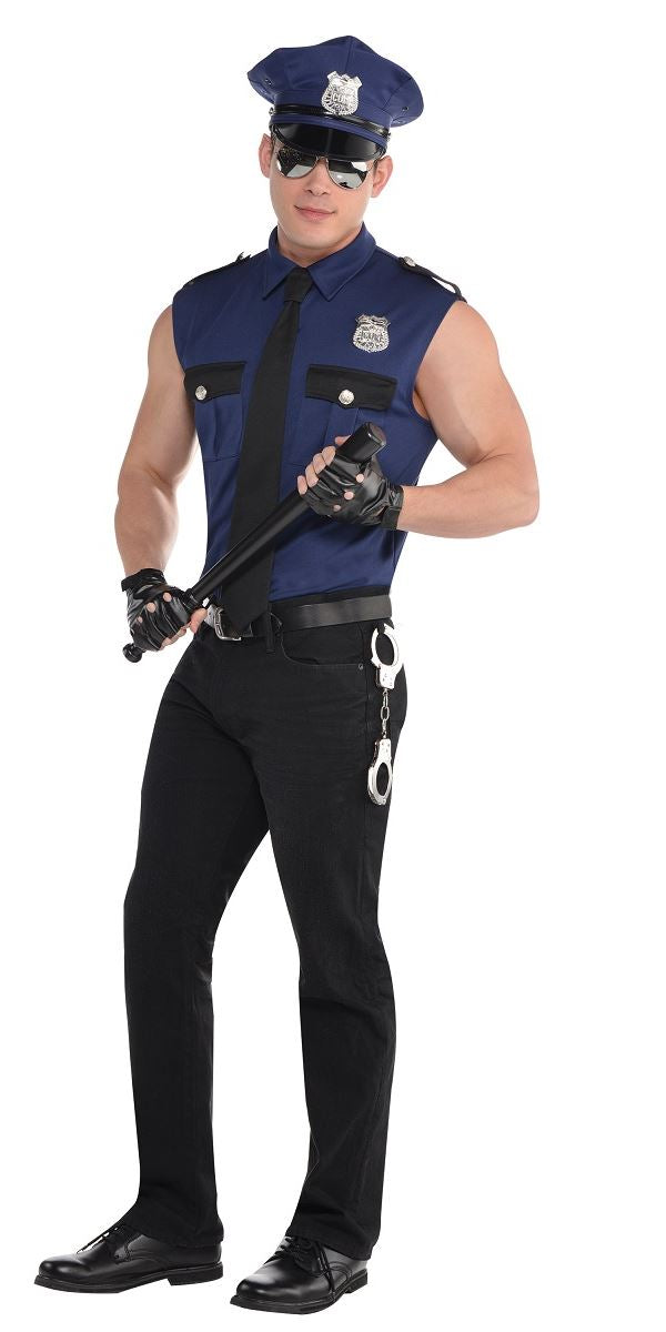 Policeman Under Arrest Mens Costume