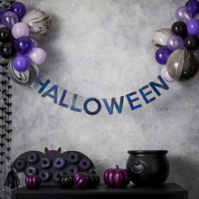 Load image into Gallery viewer, Halloween Bunting & Balloons Hanging Party Decoration