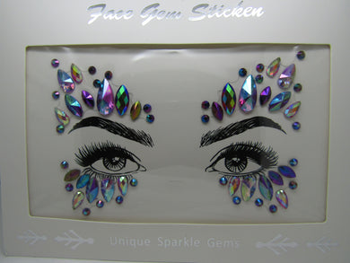beautiful Face Gem's to make a statement at any event. These are a perfect way to frame and show off your beautiful eyes and face.