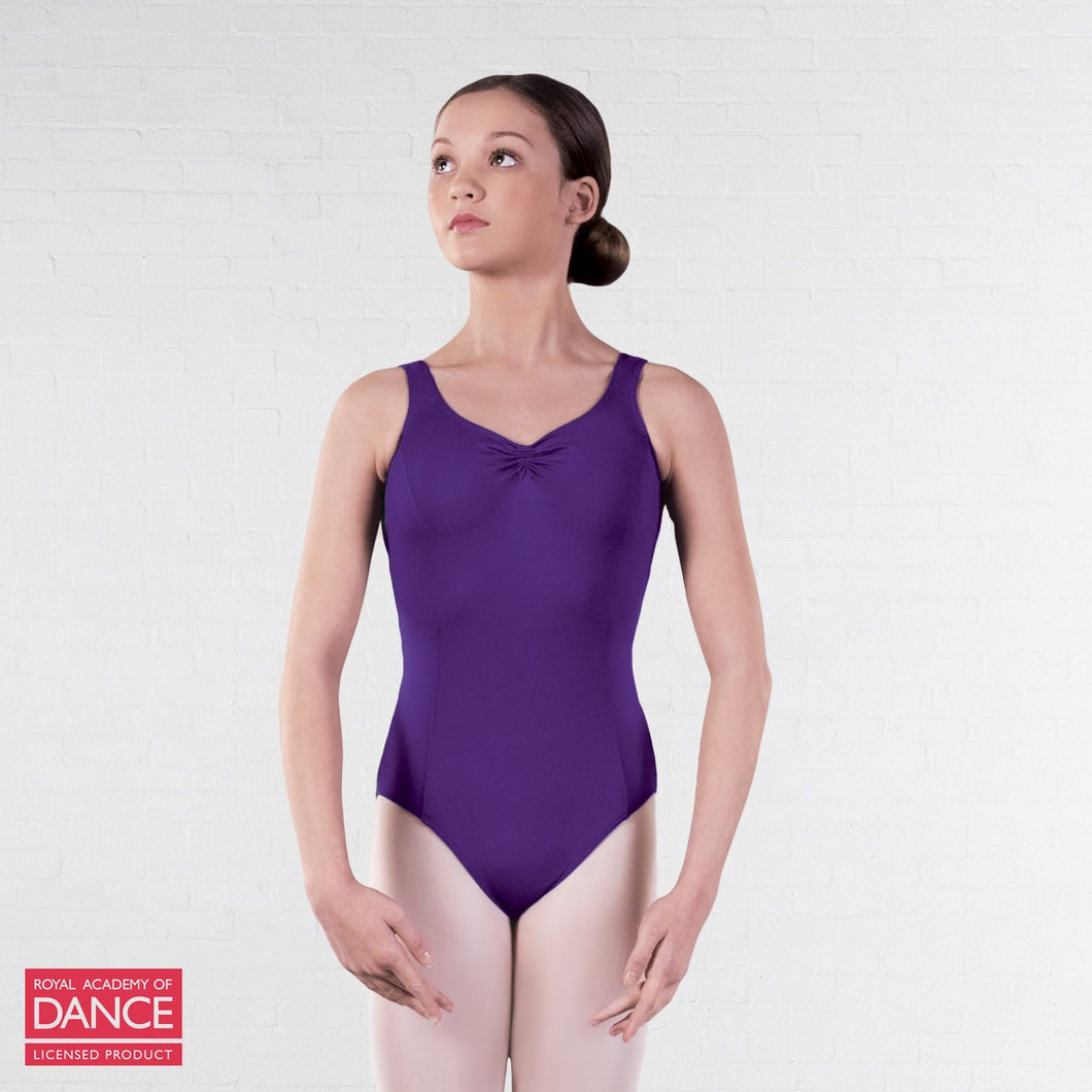 FirstFit - RAD Approved Darcey Princess - Ruche Front and Back Leotard