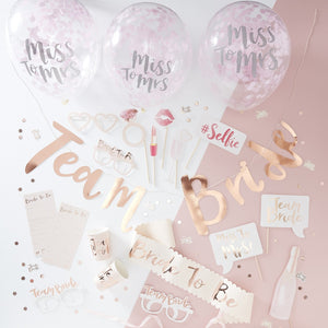 Rose Gold - Hen Party in a Box