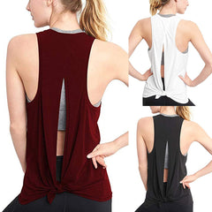 Open Back Shirt