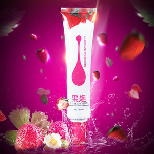 4 Types Fruity Flavor Personal Body Lubricant Sex Massage Oil Sexual Oral Fluid