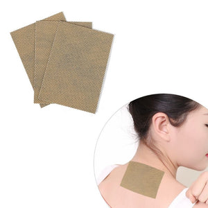 20Pcs/Bag Natural Moxa Moxibustion Heat Pain Relief Patches Plaster Adhesive Stickers Neck Shoulder Waist Leg Body Health Care Pad CYT