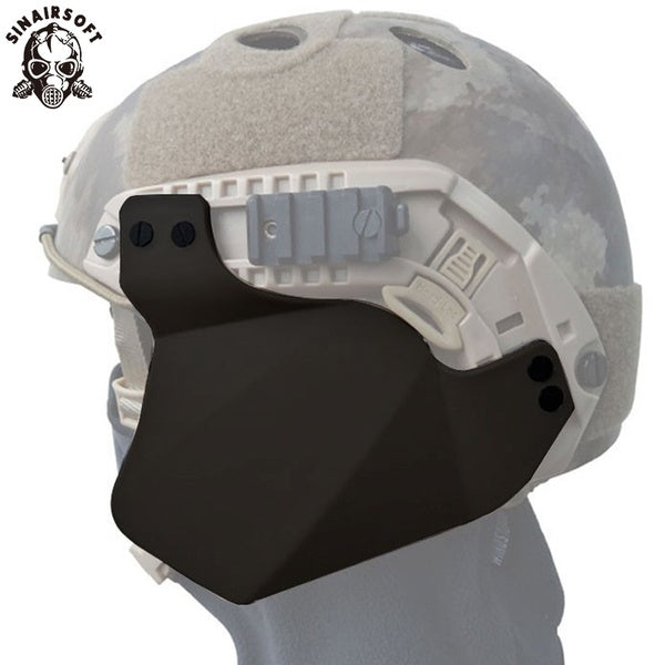 Airsoft Helmet Up-Armor Side Cover For Fast IBH/Mich 2000/ACH Helmet Rail Military Combat Ear Protection Helmet Ear-Bezel FMA