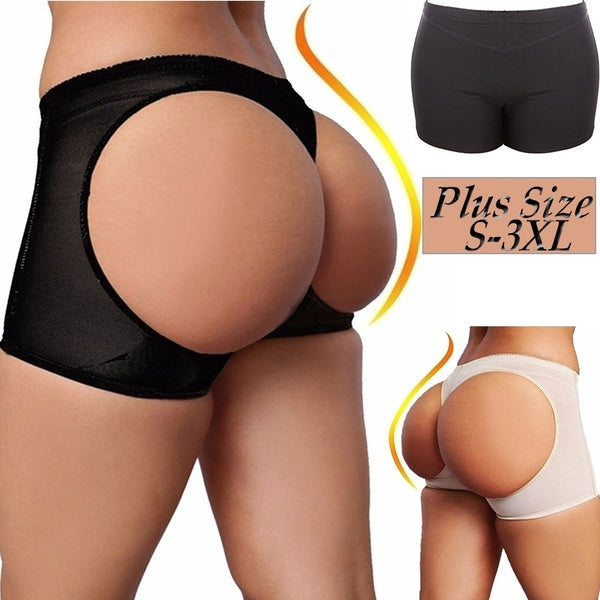 Sexy_corset Fashion Women Body Shaper Butt Lifter Seamless Soft Panties Buttocks Enhancer Abundant Buttocks Buttenhancerunderwear