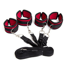 Load image into Gallery viewer, Handcuffs Bdsm Bondage Erotic Under Bed BDSM Bondage Restraint System Games for Adults Wrists & Ankle Cuffs Sexy Lingerie Set