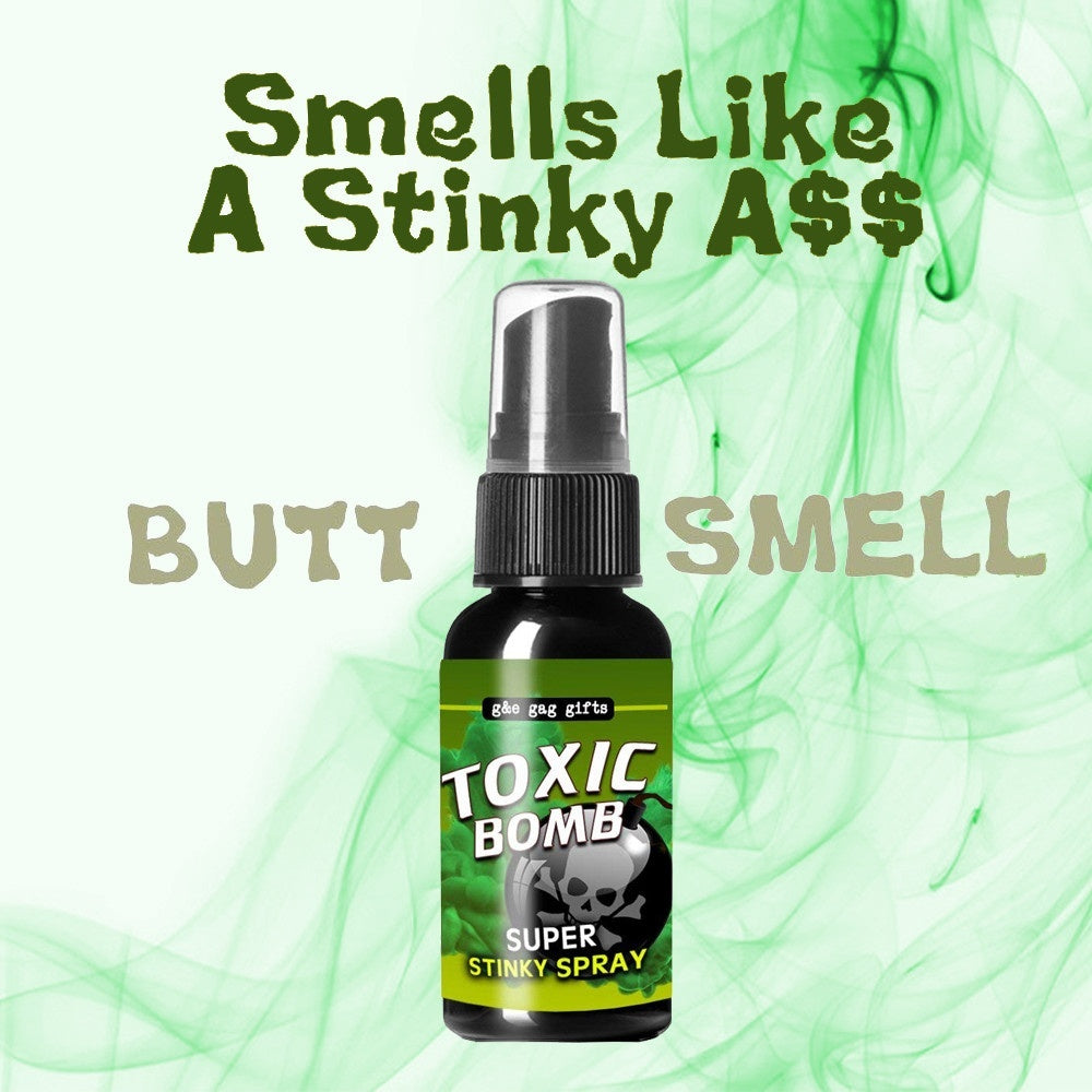 Novelties Liquid Fart Gag Prank Joke Spray Can Stink Bomb Smelly Stinky Gas Crap