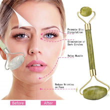 Load image into Gallery viewer, 2Pcs/Set Face Lift Tools Roller Massager  Lip Plumper Lip Makeup Primer Double-head Natural Facial Beauty Body Massage