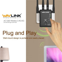 Load image into Gallery viewer, WiFi Extender 300M/750M/1200M WiFi Repeater/Router Wifi Access Point Home WiFi Signal Booster Amplifier 2/3/4 Antennas