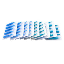 Load image into Gallery viewer, 100pcs/set Blue Disposable Mixed Sterile Tattoo Nozzle Tips Kit Set Needle Tube