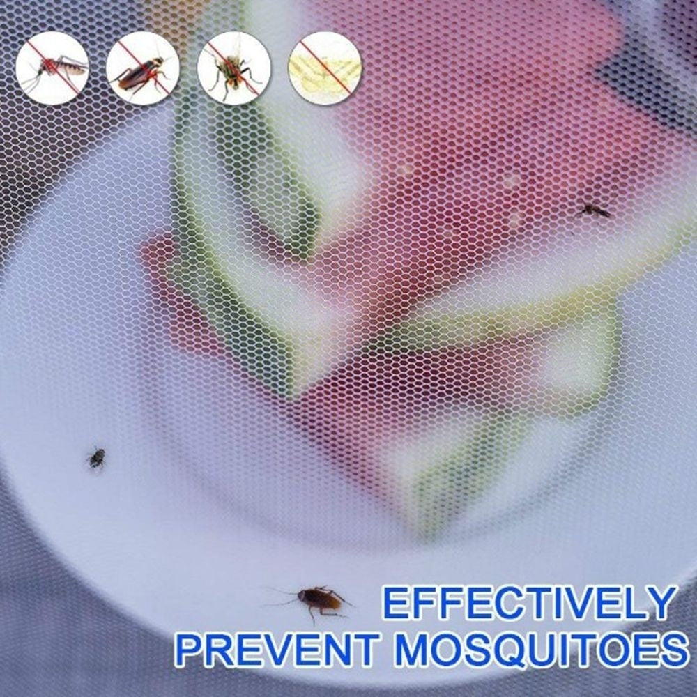 Household Washable Outdoor Anti Flies Cookout For Home Anti Mosquito Food Protector Food Cover Kitchen Helper