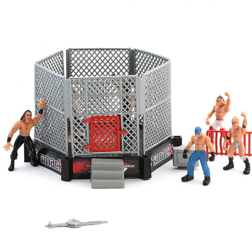 Beautiful 2019 New DIY Realistic Wrestler Building Wrestling Playset Pretend Play Educational Toy