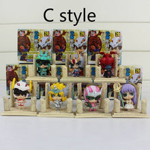 Load image into Gallery viewer, 7pcs/lot Saint Seiya SHIRYU HYOGASHUNIKKI JABUl Knights of Zodiac PVC Action Figure Model with box