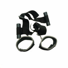 Load image into Gallery viewer, Nylon Door Swing Handcuffs Fetish Bdsm Bondage Restraints Window Hanging Hand Cuffs Erotic Sex Toys For Couples Adult Games