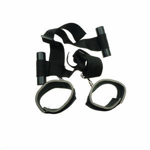 Nylon Door Swing Handcuffs Fetish Bdsm Bondage Restraints Window Hanging Hand Cuffs Erotic Sex Toys For Couples Adult Games