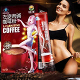 Weight Loss Coffee -10 Pack All Natural L-Carnitine Slimming Coffee Powder Body Detox Cleanse for Women and Men