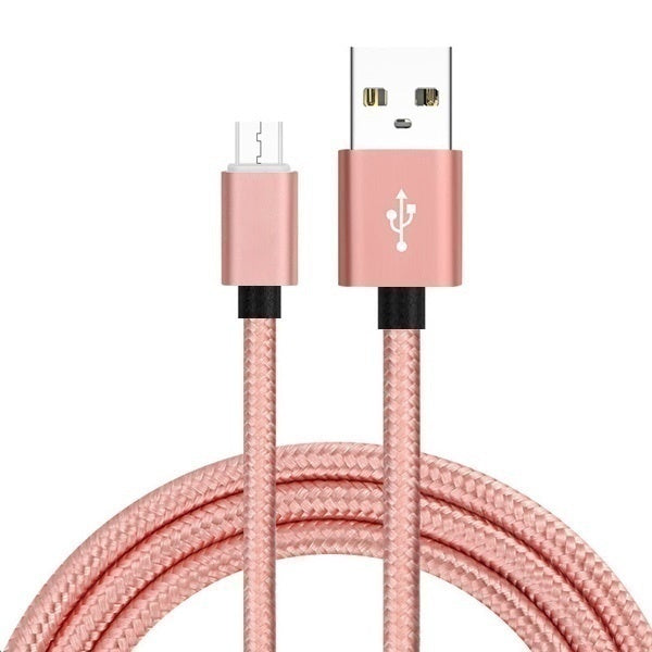 High Quality Aluminum Data Sync USB Charger Braided Cord Extra Long Cable for iPhone iPad iPod Touch (3ft=1m 6ft=2m 10ft=3m)