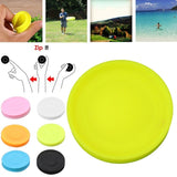 Silicone Ultimate Mini Flying Disc Toy Outdoor Men Women Kids Spin Game Toys