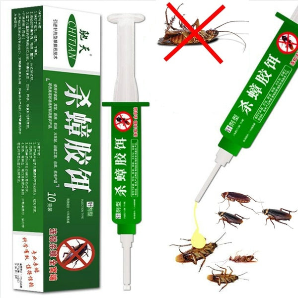1Pcs/Set Strength Drugs Kill Cockroach Medicine Gel Bait Trap High Quality Micro Toxic Effect Insecticide Spraying Pest Control