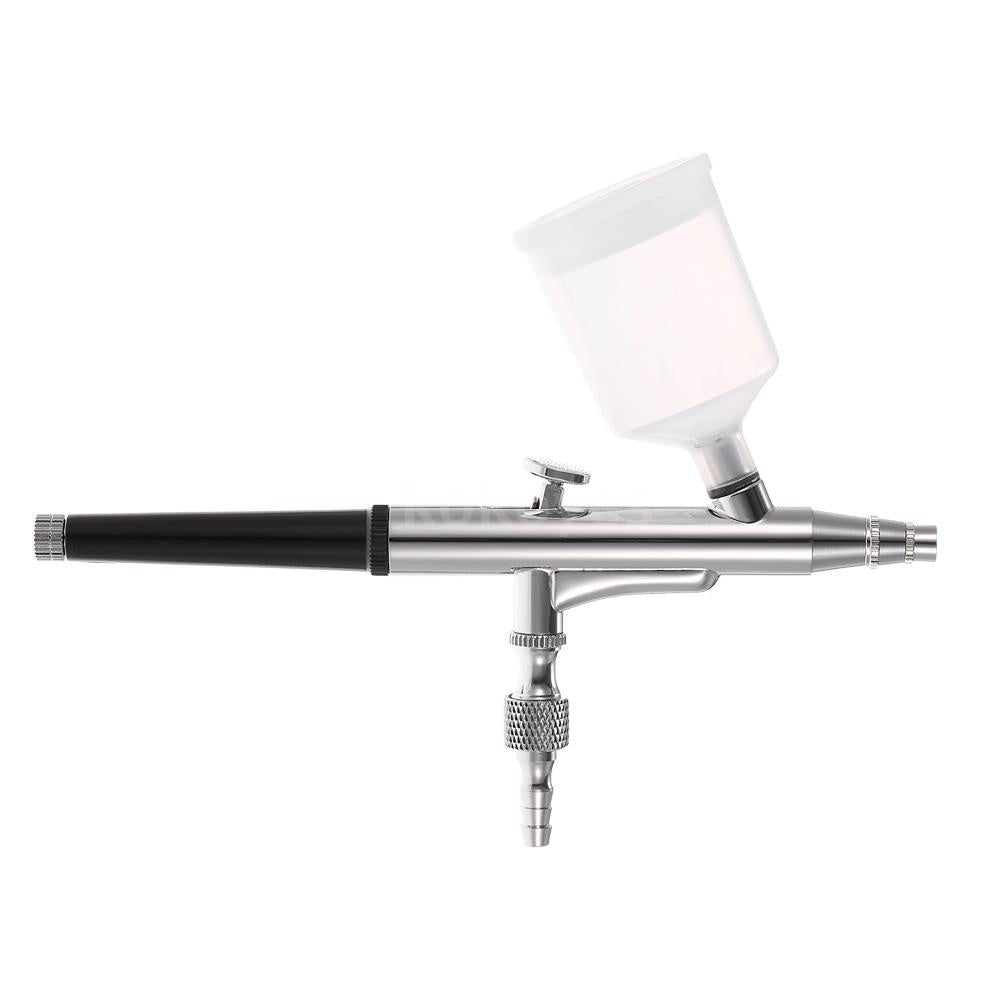 KKmoon Professional Gravity Feed Airbrush Gun Double Action Airbrush Cake Airbrush Paint Gun Nail Tool 0.3mm 20cc 40cc