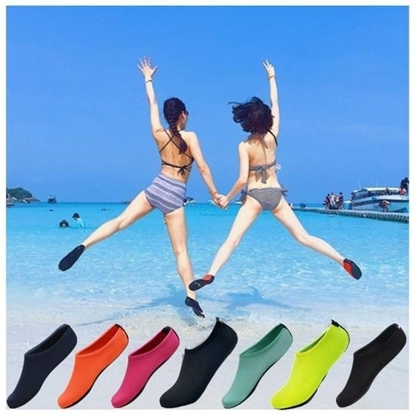 New Men Women Skin Water Shoes Beach Socks Yoga Exercise Pool Swim Slip Socks