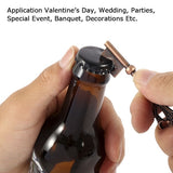 50/100pcs Metal Key Beer Bottle Opener with Paperboard Tag Card Wedding Party Supplies Favors Vintage Kitchen Accessories