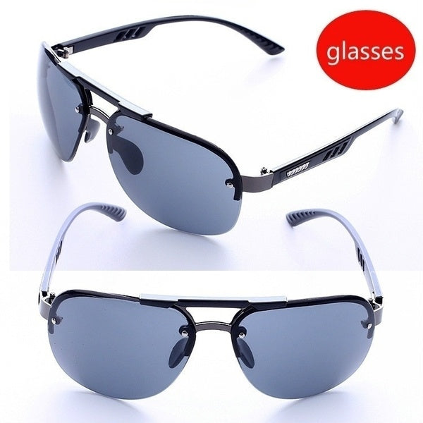 Sunglasses Personality Fashionable Rimless Sunglasses Fashionable Personality Glasses Sunglasses Men's Driving Sunglasses