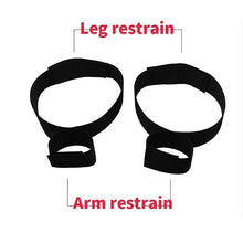 Load image into Gallery viewer, 1 Pc  Fantasy Fetish Wrist Thigh Bondage Cuffs Strap Set Rope Restraints Toy cfcf