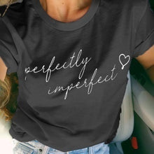 Load image into Gallery viewer, 2019 Summer Fashion Women Short Sleeve Cute Letter Print Plus Size Casual Tshirt Lady Workout Tee S-XXXL