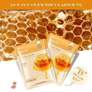 2019 NEW Skin Care Food Sheet Face Mask Moisturizing Oil Control Whitening Shrink Pores Korean Facial Mask Cosmetics@DJ