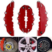 Load image into Gallery viewer, 4pcs 3D style car universal disc brake caliper covers front & rear kits ZH