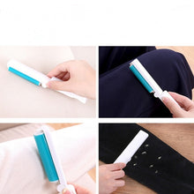 Load image into Gallery viewer, Portable washable dust collector Folding Sticky Dust Cleaner Clothes Sticky Hair Dust Brush