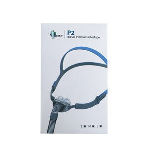 New P2 BMC Nasal Pillows CPAP Mask All In CPAP Mask With Belt Mask Clips For Sleep Snoring And Apnea