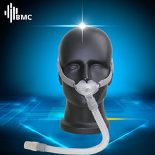 Load image into Gallery viewer, New P2 BMC Nasal Pillows CPAP Mask All In CPAP Mask With Belt Mask Clips For Sleep Snoring And Apnea