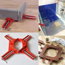 Load image into Gallery viewer, 1/2/4pcs SF 90 Degree Right Angle Corner Clamp Fixture Picture Frame Holder WoodworkingTool