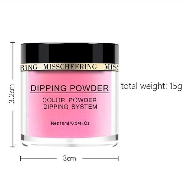 1 Box Luminous Dip Nail Powders Glow In Dark Dipping Glitter Decoration UV Gel Natural Dry NO Lamp Cure New Supply