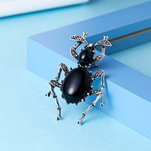 Load image into Gallery viewer, Cute Insects Scorpion Spider Crystal Enamel Brooch Animal Brooches Pins for Women Men