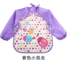 Load image into Gallery viewer, Cute Long Sleeved Bib Waterproof Bibs for Babies and Toddlers with Pocket (12-36 Months)