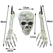 Load image into Gallery viewer, Halloween Horror Buried Alive Ghost Head Skeleton Claw Skull Garden Yard Lawn Decoration