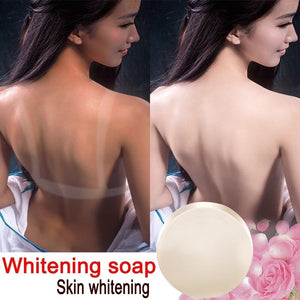 Whitening Soap Natural Active Enzyme Body Whitening Crystal Soap Skin Fade   Elbow Removing Melanin Handmade Flower Essential Oil Soap